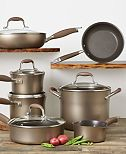 Anolon Advanced Bronze Hard-Anodized 12-Pc. Cookware Set