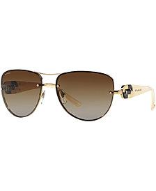 BVLGARI Polarized Sunglasses, BV6053BM