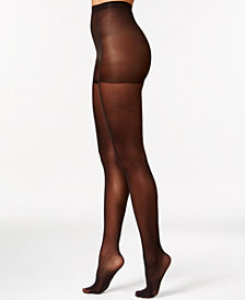 HUE® Women's Sheer Tights with Control Top