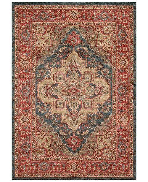 CLOSEOUT! Voyage Serapi Navy 2' x 3' Area Rug