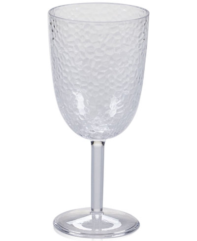Certified International Acrylic Clear All-Purpose Goblet