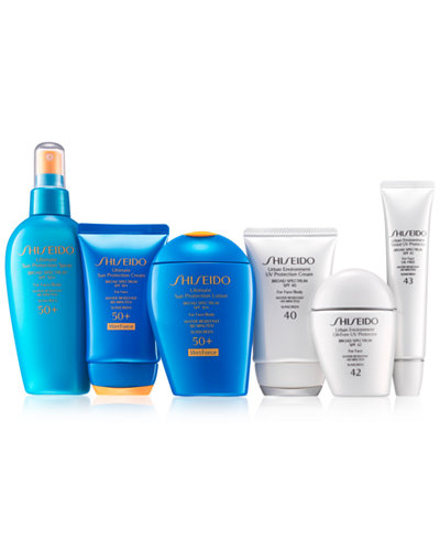 Shiseido Sun Collection