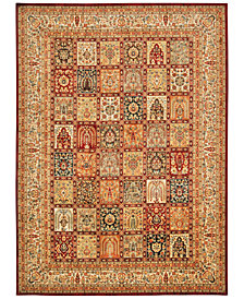 "kathy ireland Home Ancient Times Asian Dynasty Multicolor 5'3"" x 7'5"" Area Rug"