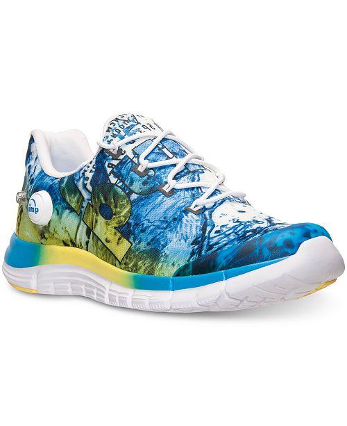 Reebok Men's ZPump Fusion Splash Running Sneakers from