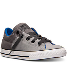 Converse Big Boys' Chuck Taylor High Street Ox Casual Sneakers from Finish Line