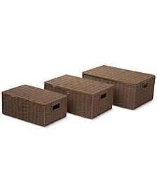 3-Pc. Paper Rope Basket Set