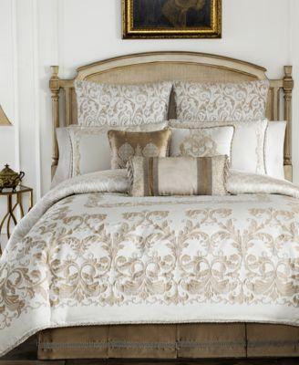 croscill monroe ivory california king comforter set bedding collections bed u0026 bath macyu0027s