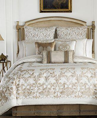 Croscill Monroe Ivory Bedding Collection