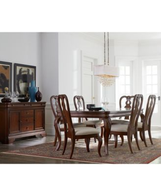 Bordeaux 9-Pc. Dining Room Set (Table, 6 Side Chairs & 2 Arm Chairs)