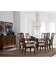 dining room sofa white bordeaux dining room furniture collection created for macys collections