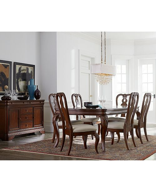 Furniture Closeout Bordeaux Dining Room Furniture Collection Created For Macy S Reviews Furniture Macy S