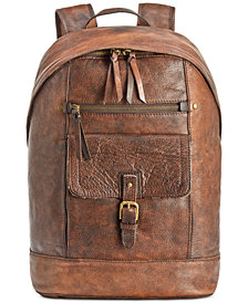 Nash Men's Tuscan Leather Backpack