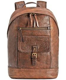 Nash Men's Tuscan Leather Backpack