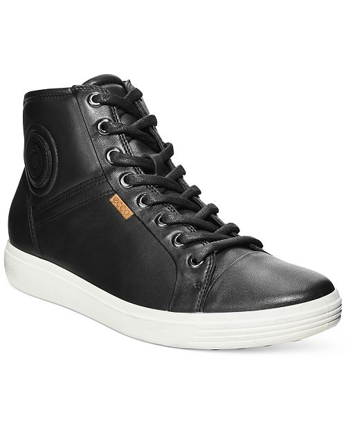 808a69328b39d6 Ecco Women s Soft VII High-Top Sneakers   Reviews - Athletic Shoes ...