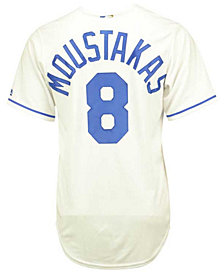 Majestic Men's Mike Moustakas Kansas City Royals Replica Jersey