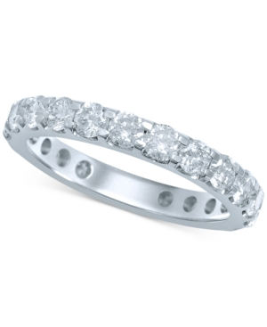 Diamond Eternity Band (1 ct. t.w.) in 14k White Gold