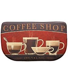 "Kitchen, Coffee Shop 18"" x 30"" Memory Foam Rug"