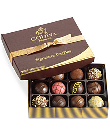 Godiva 12-Pc Signature Truffle Gift Box