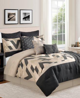 Delmont 10 Piece King Comforter Set