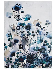 Moody Blue Watercolor Wall Art