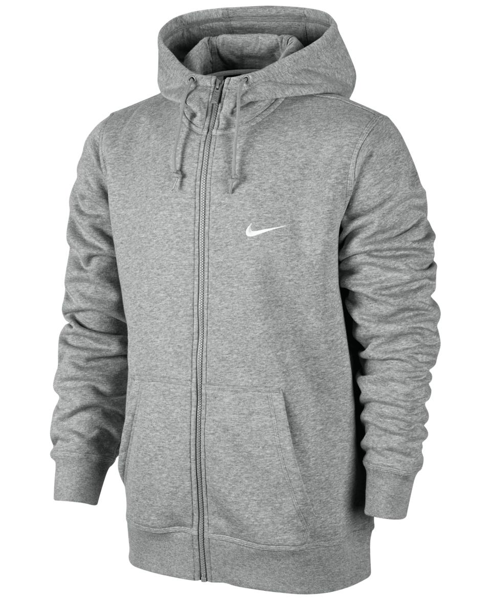 Nike Mens Classic Fleece Full Zip Hoodie   Hoodies & Sweatshirts