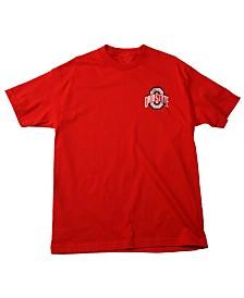 J America Men's Ohio State Buckeyes Identity T-Shirt