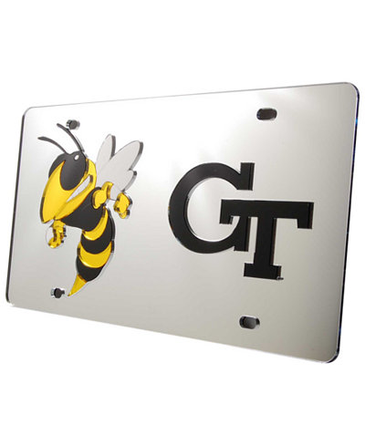 Stockdale Georgia Tech Yellow Jackets Laser Tag License Plate