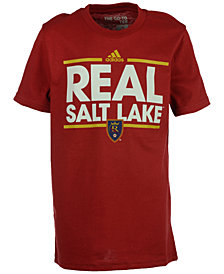 adidas Kids' Real Salt Lake Dassler T-Shirt, Big Boys (8-20)