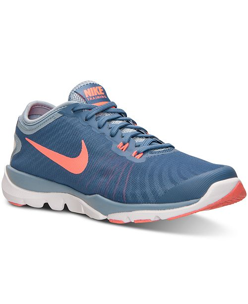 908a94a1cdc ... Nike Women s Flex Supreme TR 4 Training Sneakers from Finish Line ...