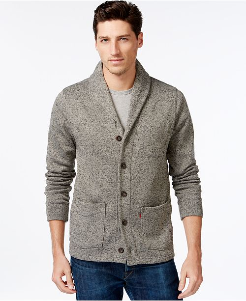 Levis Rand Shawl Collar Cardigan Sweaters Men Macys
