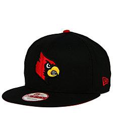 New Era Louisville Cardinals Core 9FIFTY Snapback Cap