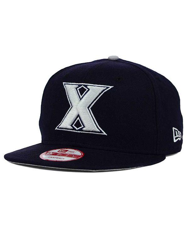 New Era Xavier Musketeers Core 9FIFTY Snapback Cap