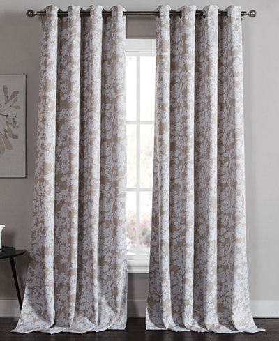 Curtains Ideas 54 curtain panels : Kensie Home Ainna Pair of 54'' x 84