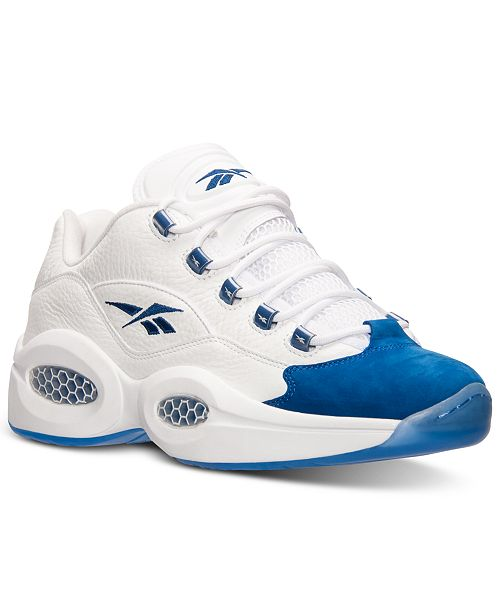 Reebok Men's Question Low Basketball Sneakers from Finish Line