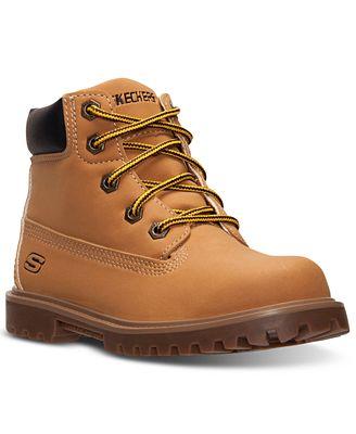 sketchers kids boots. skechers little boys\u0027 mecca - bunkhouse boots from finish line sketchers kids