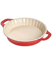 "Staub Ceramic 9"" Pie Dish"