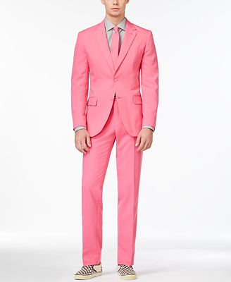 OppoSuits Mr. Pink Slim-Fit Suit and Tie - Suits & Suit Separates ...