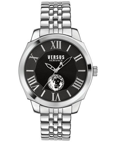 Versus by Versace Men's Chelsea Stainless Steel Bracelet Watch 42mm SOV020015
