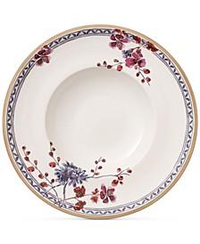 Artesano Provencal Lavender Collection Porcelain Pasta Plate