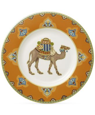 Samarkand Mandarin Collection Porcelain Salad Plate