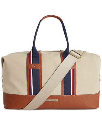 tommy hilfiger connor weekender bag accessories wallets men macy 39 s. Black Bedroom Furniture Sets. Home Design Ideas