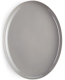 Hotel Collection Modern Serveware Porcelain Oval Platter, Created for Macy's