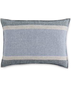 Hotel Collection Linen Stripe King Sham Created for Macys Bedding