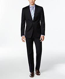 Navy Solid Slim X Fit Suit