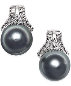 66f01590565fe Pearl Stud Earrings: Shop Pearl Stud Earrings - Macy's