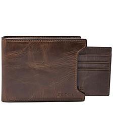 Derrick 2 In1 Bifold Leather Wallet