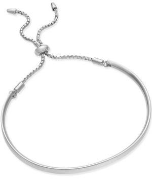 GIANI BERNINI   Giani Bernini Adjustable Bracelet In 14K Gold Over Sterling Silver Or Sterling Silver, Only At Macy'S   Goxip