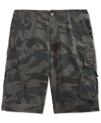 Mens Cargo Camo Shorts