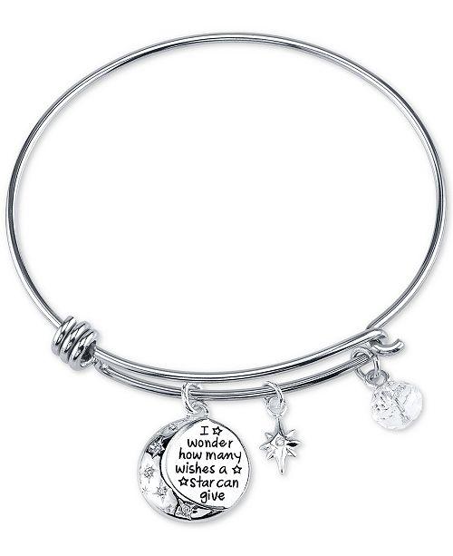 Disney Winnie The Pooh Wishes Crystal Charm Bracelet In