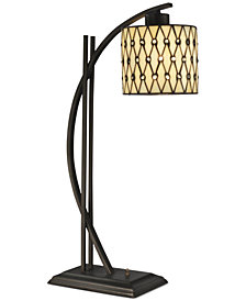 Dale Tiffany Cocoa Beach Metal Table Lamp